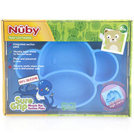 Baby Feeding Nuby Sure Grip Silicone Placemat Monkey Blue 80251