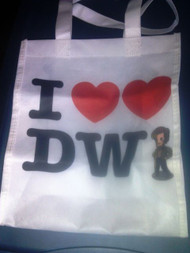 Tote Bag - Doctor Who - I Heart Heart The Doctor