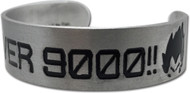 Bracelet Dragon Ball Z It's Over 9000!!! Metal ge87163