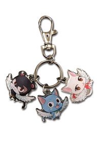 Key Chain Fairy Tail Exceed Metal Pantherlily Happy Clara ge48190