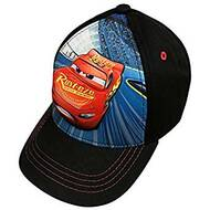 Baseball Cap Disney Cars McQueen Black 3D Pop Up 362505