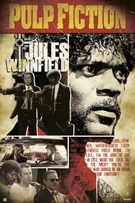 "Poster Pulp Fiction Mia Wallace 36x24/"" Wall Art r84915 Studio B"