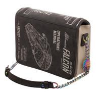 Hand Bag Star Wars Han Solo Millennium Falcon Operations Manual lb6g5kstw