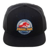 Baseball Cap Jurassic Park Black Snapback sb7ke3jpa