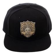 Baseball Cap Black Clover Crests Black Snapback sb6vy4cru