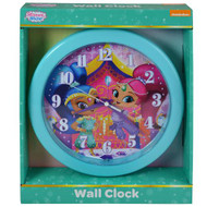 "Wall Clock Shimmer & Shine 10"" SHC108"
