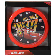 "Wall Clock Disney Cars 3 Lightning McQueen 10"" CRC526"