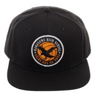 Baseball Cap Haikyu Black Snapback sb5mlmcru