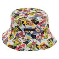 Bucket Hat Nickelodeon All Over Print ob6kgenic