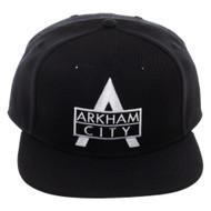 Baseball Cap Arkham City Black Snapback sb7dx0btm