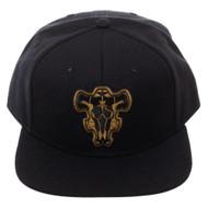 Baseball Cap Black Clover Crests Black Snapback sb6vy3cru