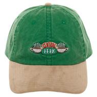 Baseball Cap Friends Central Perk Suede Bill Hat ba6kg0fri