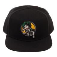 Baseball Cap My Hero Academia Izuku Midoriya Black Snapback sb6bmimha