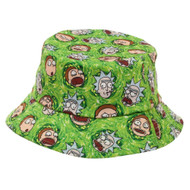 Bucket Hat Rick and Morty All Over Print ob6p99ric