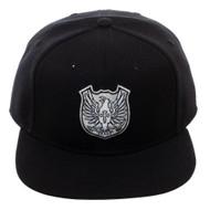 Baseball Cap Black Clover Crests Black Snapback sb6vy1cru