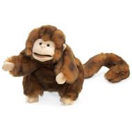 Hand Puppet Folkmanis Monkey Animals Soft Doll Plush 2123