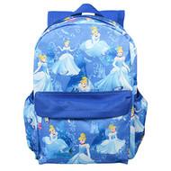 "Backpack Disney Princess Cinderella Blue 16"" 003340"