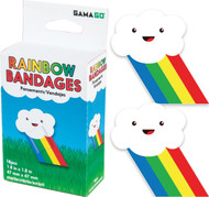 Bandages Gamago Rainbow 18Pcs LA1611