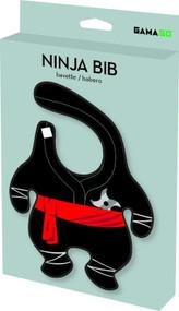 Baby Bib Gamago Ninja Black LA1424