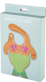 Baby Bib Gamago Mermaid LA1517