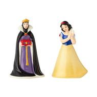 Salt & Paper Shaker Disney Snow White & Queen Ceramic New 6001017