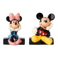 Salt & Paper Shaker Disney Mickey & Minnie Ceramic New 6001013