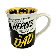 Mug DC Comics Batman Dad Heroes Cup 16oz New 6003582