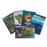 Lithograph Jurassic World Maps & Signs Print Set 408876