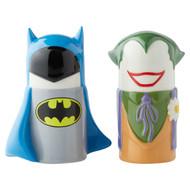 Salt & Paper Shaker DC Comics Stylized Batman vs Joker New 6003729