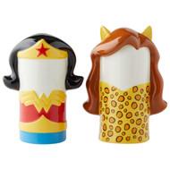 Salt & Paper Shaker DC Comics Wonder Woman vs Cheetah New 6004162