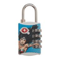 Combination Lock DC Comics Wonder Woman TSA ta5hd6dco