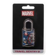 Combination Lock Marvel Captian America TSA combination locks ta5rakmvl