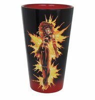 Pint Glass X-men Dark Phoenix 16oz gcm-xmen-phx
