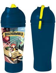 Water Bottle Overwatch Blizzard World h2o-ow-blzride
