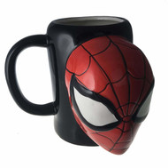 Molded Mug Marvel Spiderman 3D Sculpted Cup 24oz momg-mc-spidface
