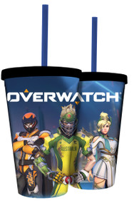 Carnival Cup Overwatch Summer w/Straw cc-ow-rjm