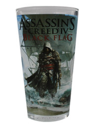Pint Glass Assassins Creed Black Flag 16oz gls-ac-ac4
