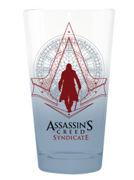 Pint Glass Assassins Creed Syndicate 16oz gls-ac-blue