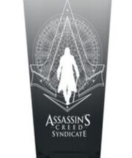 Pint Glass Assassins Creed Syndicate Grey 16oz gls-ac-grey
