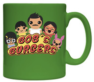 Mug Bob's Burgers All Family Green 15oz Coffee Cup cmg15-bob-fmlyani