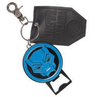 Key Chain Black Panther Premium Bottle Opener & Leather ke6pxubpm