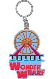 "Key Chain Bob's Burgers Wonder Wharf 2"" kc-bob-fwhl"