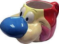 Molded Mug Ren & Stimpy Stimpy 3D Ceramic Cup 22oz mcmg-nick-stimhed