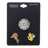 Pin Set Card Captor Sakura Lapel Set of 3 lp7e95cru
