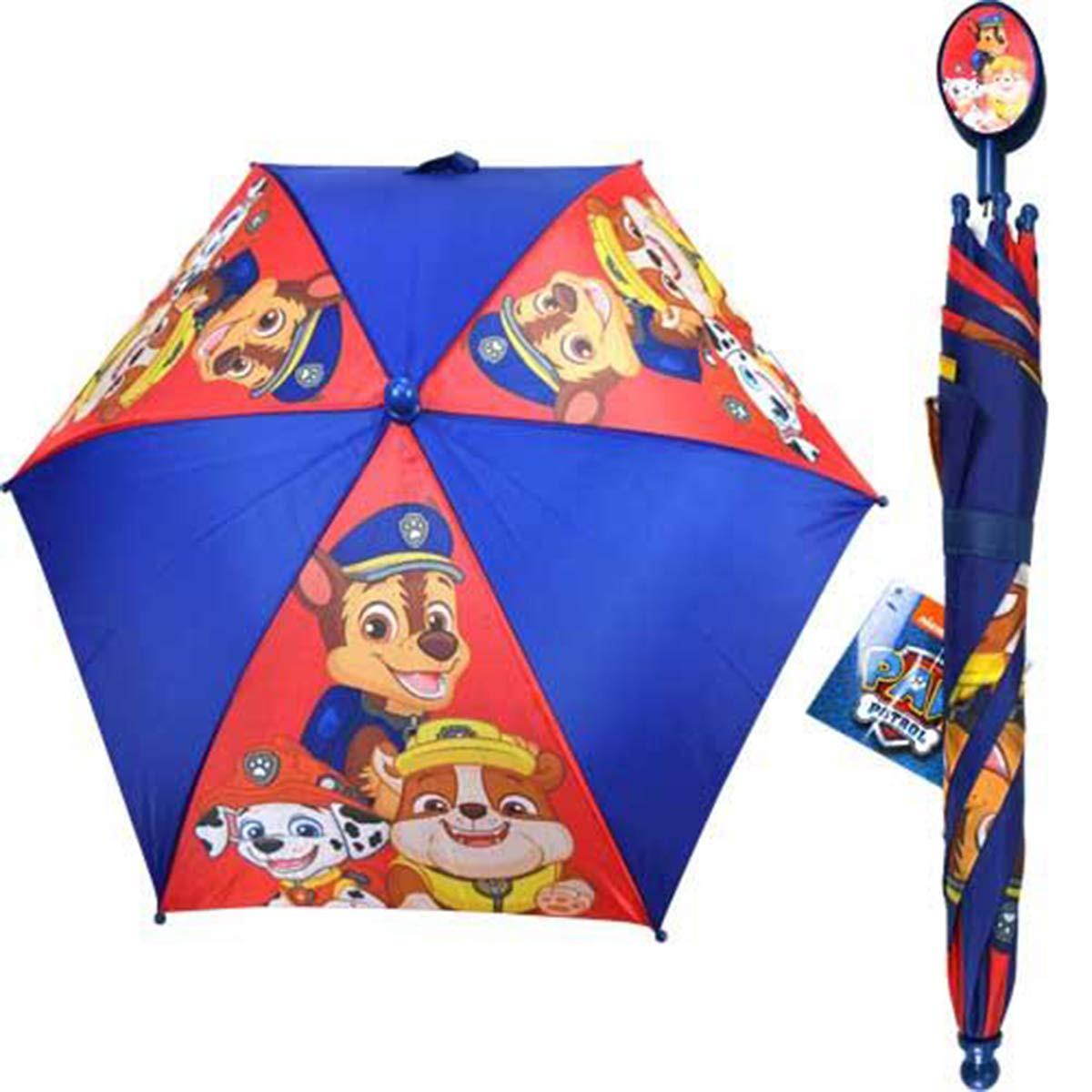 Umbrella Paw Patrol Blue Red Kids Youth 284208 2 Hobby Hunters