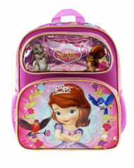 "Small Backpack Disney Sofia The First 12"" 008536"