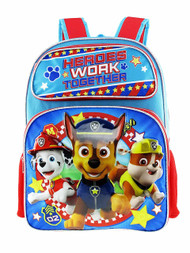 Backpack Paw Patrol Heroes Work Together 001308