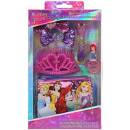 Beauty Accessories Disney Princess Hair Set w/Crown DP2597SC