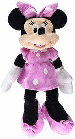 "Plush Disney Baby Minnie Mouse Pink 25"" 10587"