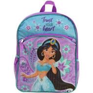 """Backpack Aladdin Princess Jasmine 16"""" ALDN30511"""